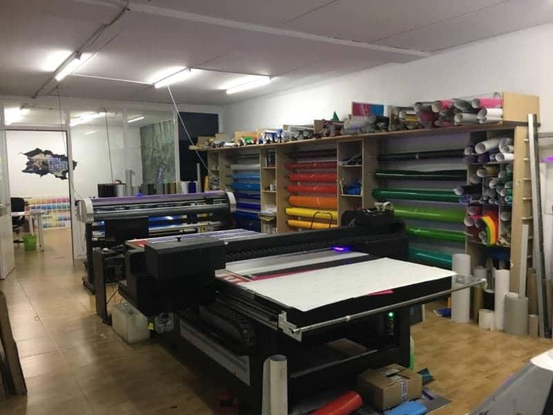 taller para diseño de rotulos y vinilos coruña